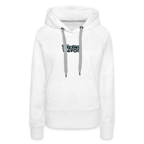 Ecriture pryse - Sweat-shirt à capuche Premium pour femmes