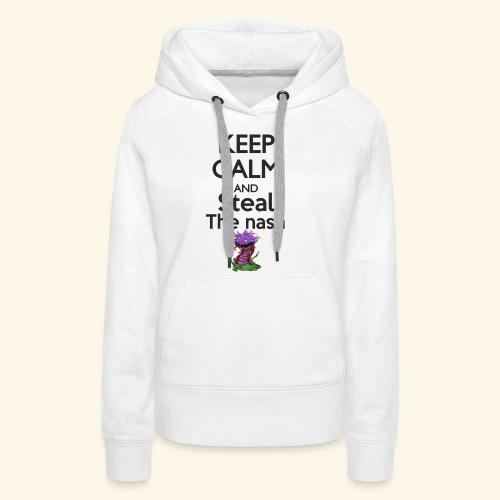Steal the nash - Mug - Sweat-shirt à capuche Premium pour femmes