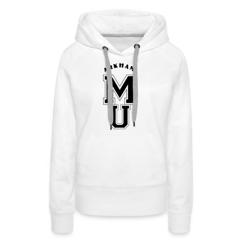 Miskatonic Ecusson Black - Sweat-shirt à capuche Premium pour femmes