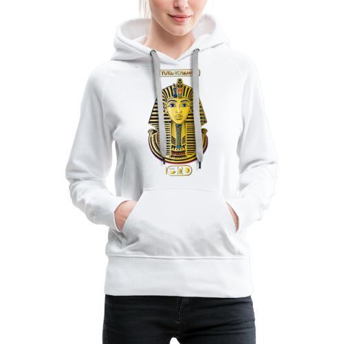 Tutanchamun I Goldmaske I Ägypten - Frauen Premium Hoodie