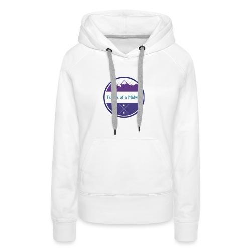 Women's Tee centre logo - Women's Premium Hoodie