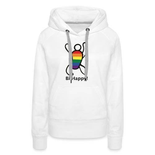 Bi Happy! - Vrouwen Premium hoodie