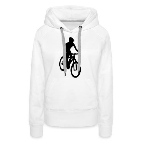 Mountainbiker - Frauen Premium Hoodie