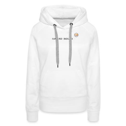 Schrift mit orangenem a - Frauen Premium Hoodie