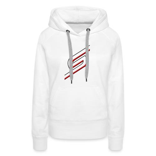 png - Sweat-shirt à capuche Premium pour femmes