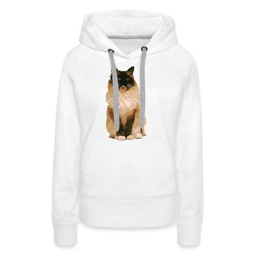 Ragdoll-Katze 1 - Frauen Premium Hoodie