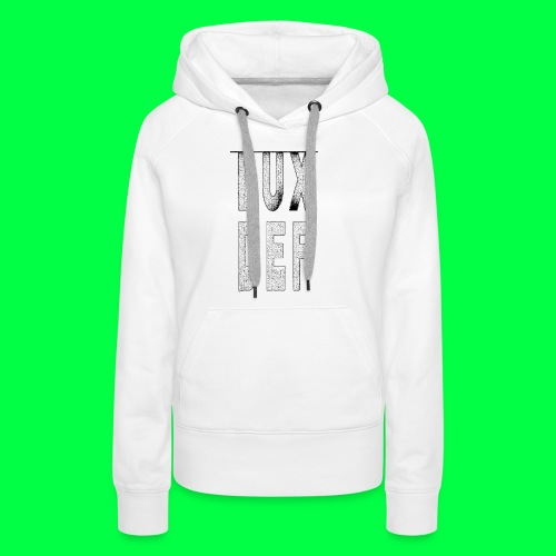 lux def: graphic brand logo design grafikdesign - Frauen Premium Hoodie