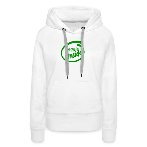 veggie-inside - Frauen Premium Hoodie