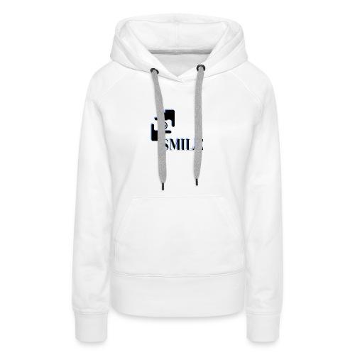 Smile - Sweat-shirt à capuche Premium pour femmes
