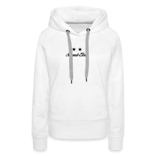 Seconde Etoile - Sweat-shirt à capuche Premium pour femmes