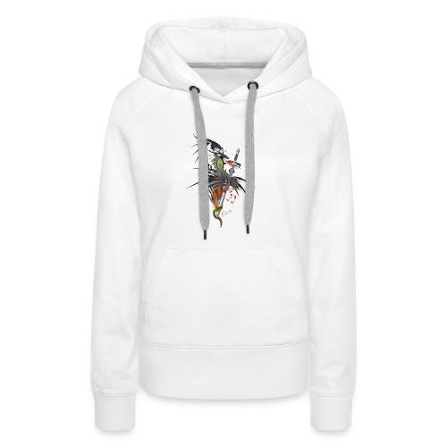 Dragon Sword - Drachenkampf - Frauen Premium Hoodie