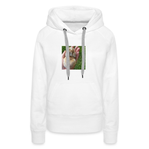 Conejo bebe - Sudadera con capucha premium para mujer