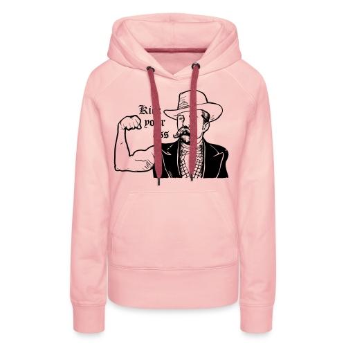 Kick Your Ass - Vrouwen Premium hoodie