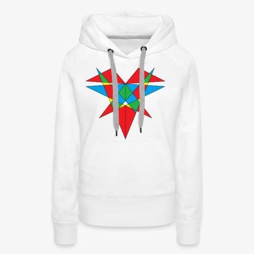 <3 - Vrouwen Premium hoodie