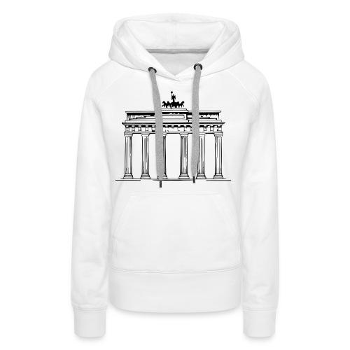 Brandenburger Tor Berlin Victoria Streitwagen - Frauen Premium Hoodie