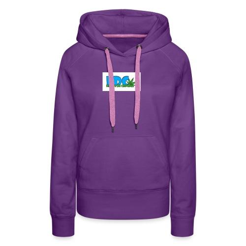 Logo_Fabini_camisetas-jpg - Sudadera con capucha premium para mujer