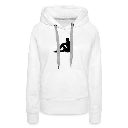 silhouette 3049706 480 - Frauen Premium Hoodie