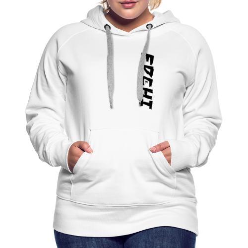 Edchi - Dame Premium hættetrøje