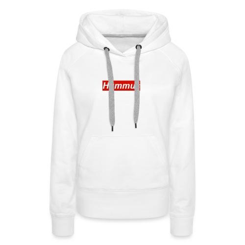 Hummus hoodie - Women's Premium Hoodie