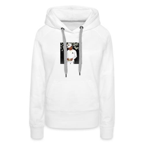Nigga - Dame Premium hættetrøje