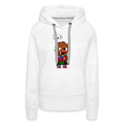 Eckhex Pullover - Frauen Premium Hoodie