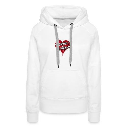 Bad Valentine - Sweat-shirt à capuche Premium pour femmes