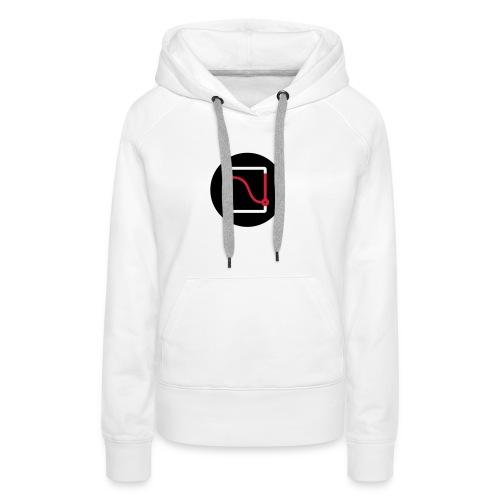 Logo Circle Design - Women's Premium Hoodie