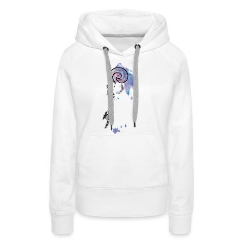 Dreamcatcher purple - Frauen Premium Hoodie