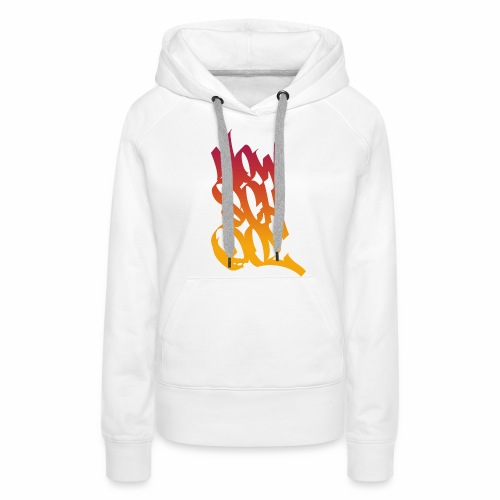 NowSchOol Marker Design (Colors V2) - Women's Premium Hoodie