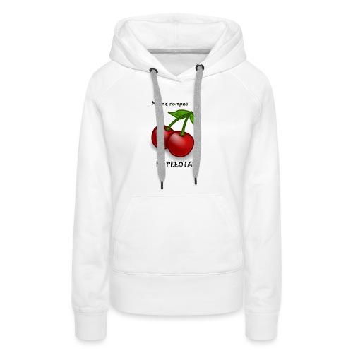 Ne me casse pas les C... - Sweat-shirt à capuche Premium pour femmes