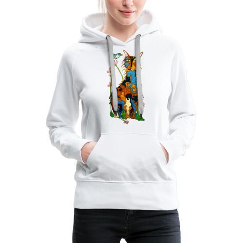 Matou - Sweat-shirt à capuche Premium pour femmes