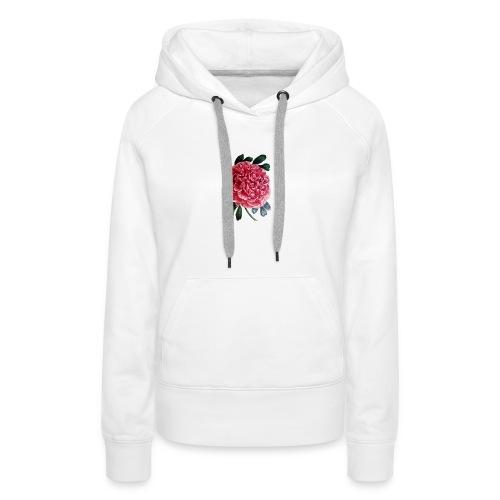 Flower Nourish Moriella - Sudadera con capucha premium para mujer
