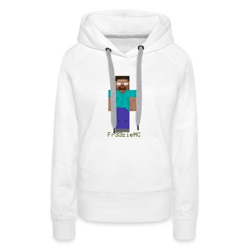 Designe boutique 1 - Sweat-shirt à capuche Premium pour femmes
