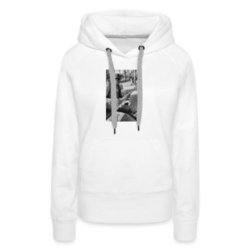 Shaka saxo - Sweat-shirt à capuche Premium pour femmes