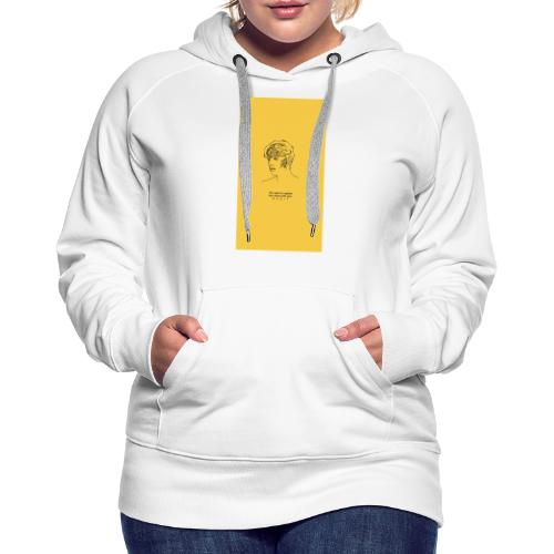 Yellow Boy Art - Women's Premium Hoodie