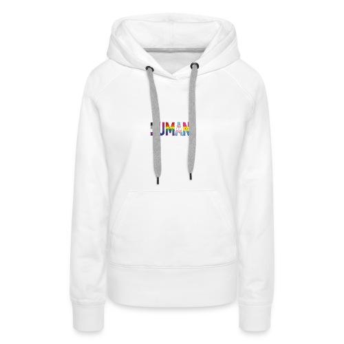 HUMAN - Rainbow - Frauen Premium Hoodie
