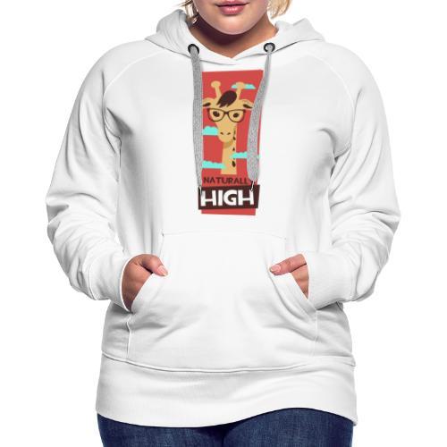 naturally high - Frauen Premium Hoodie