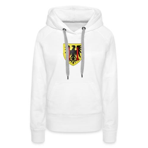 Blason Besançon - Sweat-shirt à capuche Premium pour femmes