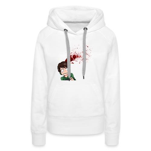 tumblr_static_7dsyozktuz48w4swo4kkwc4k8.png - Sweat-shirt à capuche Premium pour femmes