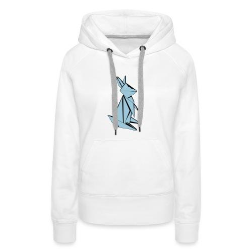 Origami Bunny - Women's Premium Hoodie