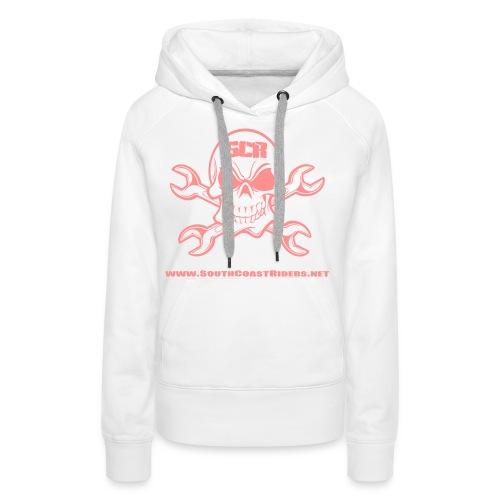 SCR SKULL V2 - Women's Premium Hoodie