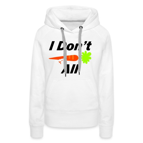 Carrot png - Vrouwen Premium hoodie