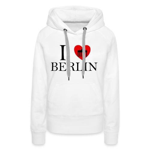 I LOVE BERLIN - Frauen Premium Hoodie