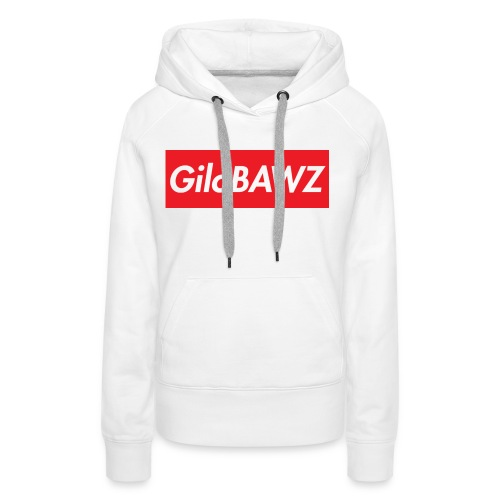 GILOBAWZGOODSIZE png - Vrouwen Premium hoodie
