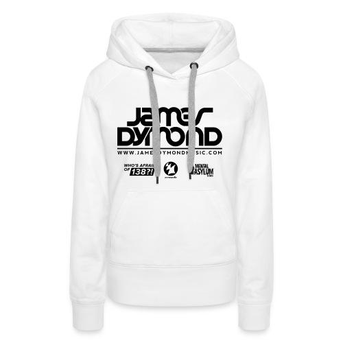 Final JD Shirt Design Black 4 png - Women's Premium Hoodie