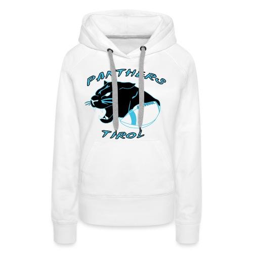 Panthers Logo 2014 Schriftzug png - Frauen Premium Hoodie