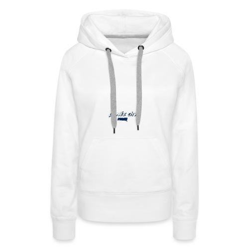 le mée - Sweat-shirt à capuche Premium pour femmes