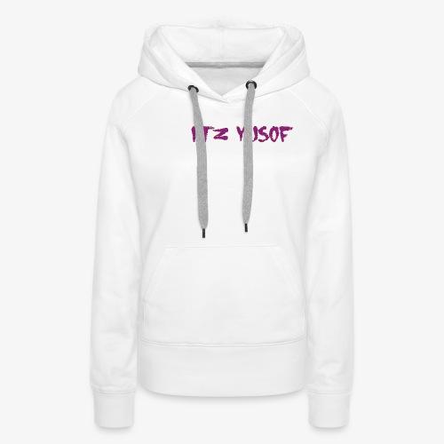 my new merch itz yusof - Women's Premium Hoodie