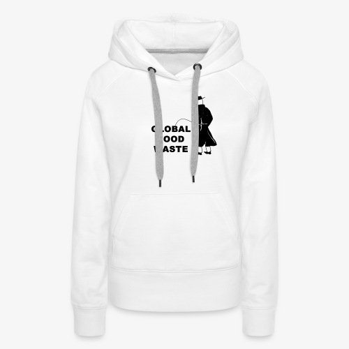 Pissing Man against Global Food Waste - Frauen Premium Hoodie
