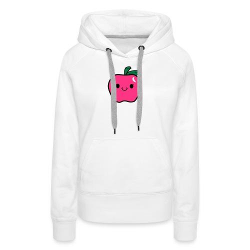 Kawaii Apfel - Frauen Premium Hoodie